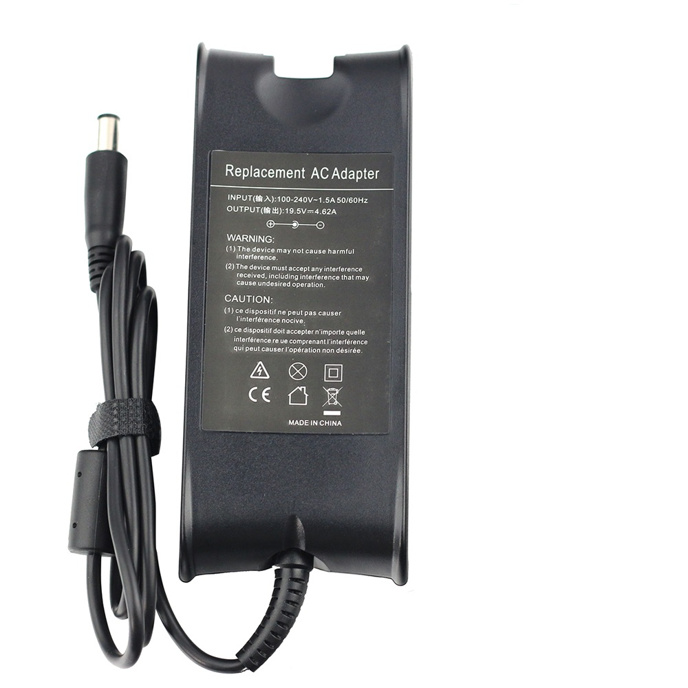 19.5v 4.62a 90w Ac Power Adapter Charger For Dell Laptop Ad-90195d Pa-1900-01d3 Df266 M20 M60 M65 M70 7.4* 5.0mm With Pin Laptop Adapter
