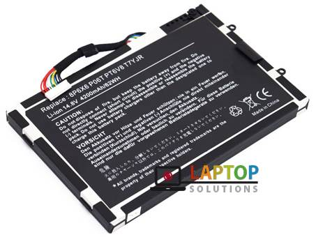 Repl  For DELL LAPTOP BATTERY Alienware M11X, M11X R1, M11X R2, M11X R3,  M14X, 8P6X6, P06T, PT6V8, T7YJR, 14 8V 4260mAh, 63Wh